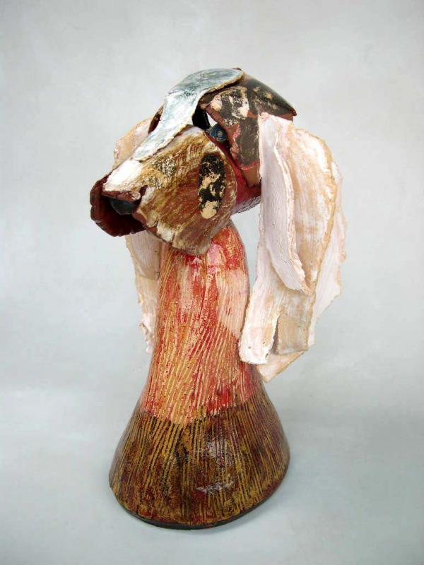 Rinkinkin , buste de chien chercheur