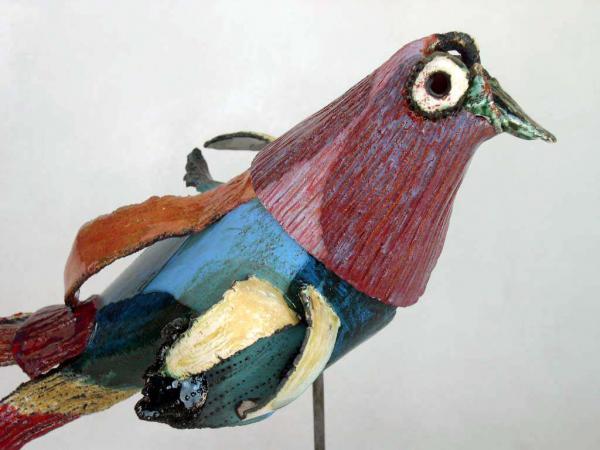 Oiseau du Paradis (détail)